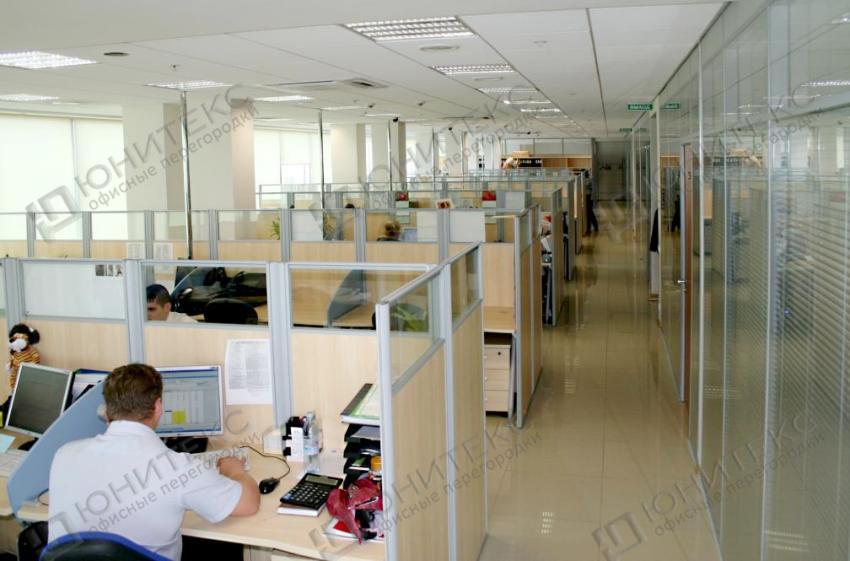Как сделать офисные перегородки самим